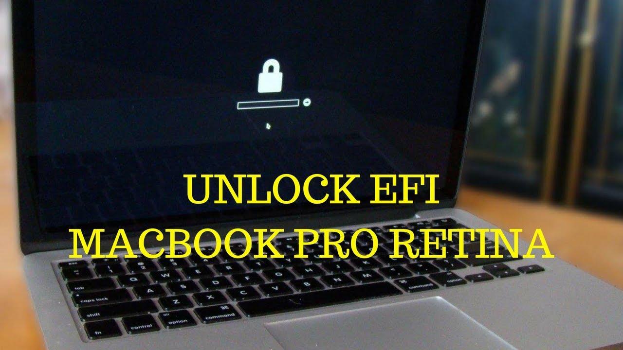 Unlock EFI Password MacBook Pro A1502