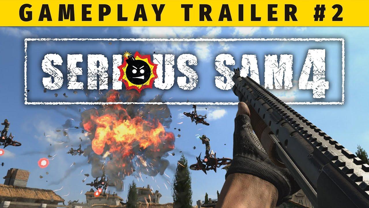 serious sam 2 game trailer