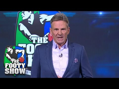 Sam Newman's emotional farewell speech | AFL Footy Show 2018