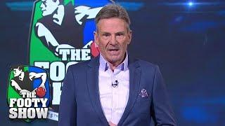 Sam Newman's emotional farewell speech | AFL Footy Show 2018
