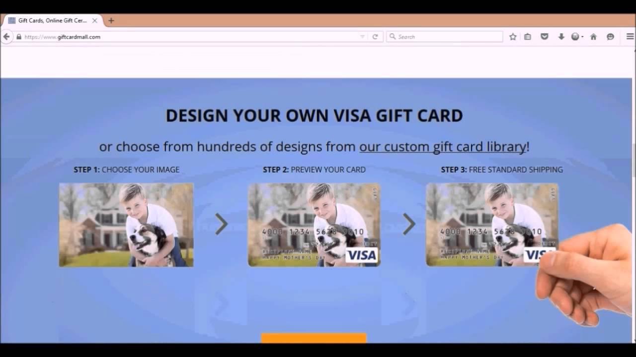 giftcardmall visa gift cards - Custom Visa Gift Cards