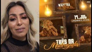 Walkyria Santos comenta o lançamento do seu DVD in Roça
