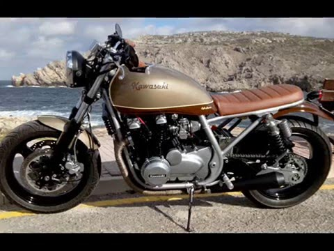 Cafe Racer Zr750 Youtube