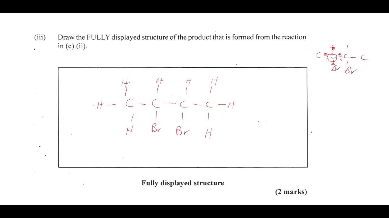 csec chemistry january 2016 question 3 youtube