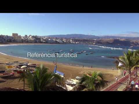 Playa de Las Canteras - Bandera Azul UE / EU Blue Flag 2016