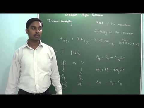 2.5 Thermochemistry & Heat of the reaction (Chemistry class 11 and 12)