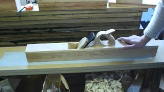 How To Make A Traditional Style Jointer Plane Part 6