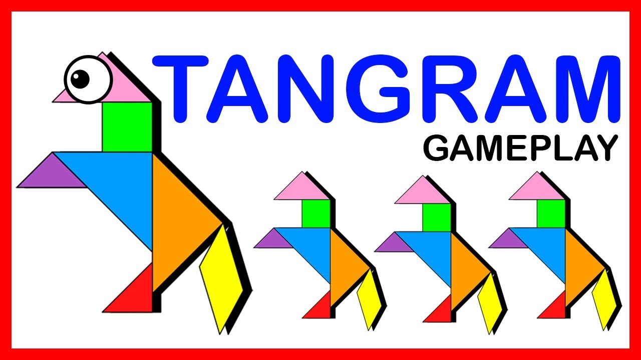 math games  tangram puzzle game play for smart kids
