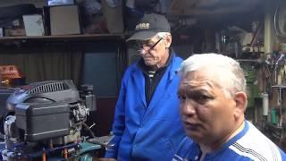 Лодочникам на заметку!!! Лодочный Мотор в руках Ивана Селиванова! Творчество не знает границ!