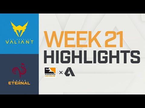 Akshon Highlights   Los Angeles Valiant vs Paris Eternal   Week 21   NA Day 2