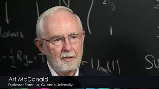 2015 Nobel Laureate in Physics: Art McDonald
