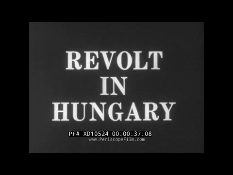 "1956 HUNGARIAN REVOLUTION & SOVIET SUPPRESSION  ""REVOLT IN HUNGARY""  IMRE NAGY XD10524"