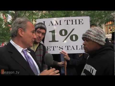 "Wall Street CEO Peter Schiff visits ""Occupy Wall Street"""