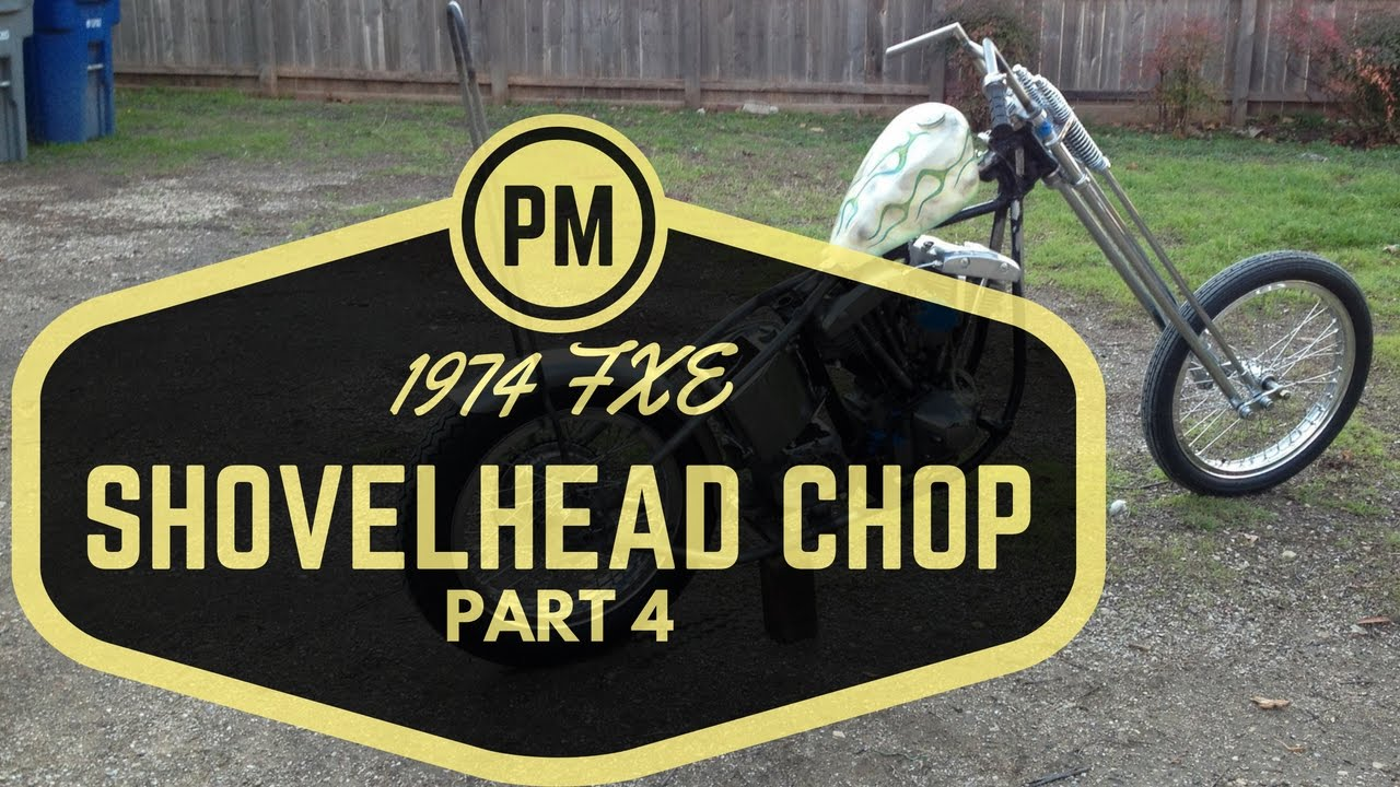 Part 4 Harley Fxe Shovelhead Chop Project – Fondos de Pantalla