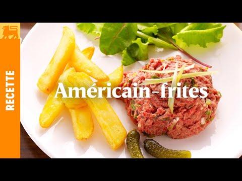 Américain-frites