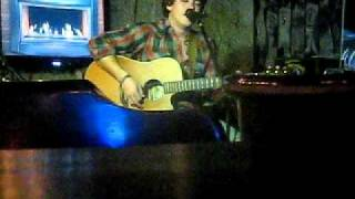 Aspergers Superstar J playing covers at the Iron Barley St L