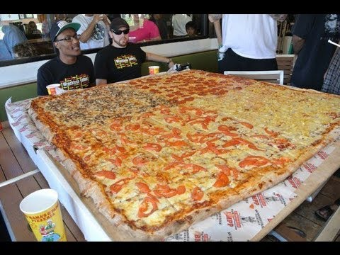 Big Mama S Amp Papa S Pizzeria 54 Inch Pizza Challenge Youtube