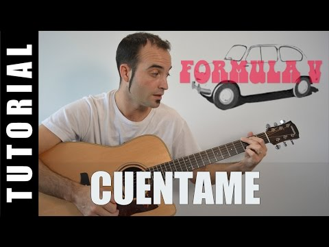 How to play Cuentame - Formula V EASY Tutorial CHORDS and LYRICS, TABS