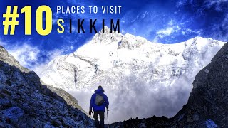 Top 10 Places in Sikkim | Tourist Places In Sikkim | Tourist Places In India | Tourism | #033