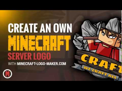 Cooles Minecraft Server Logo Erstellen Mit Dem Minecraft Logo Maker - Minecraft server icon erstellen gimp