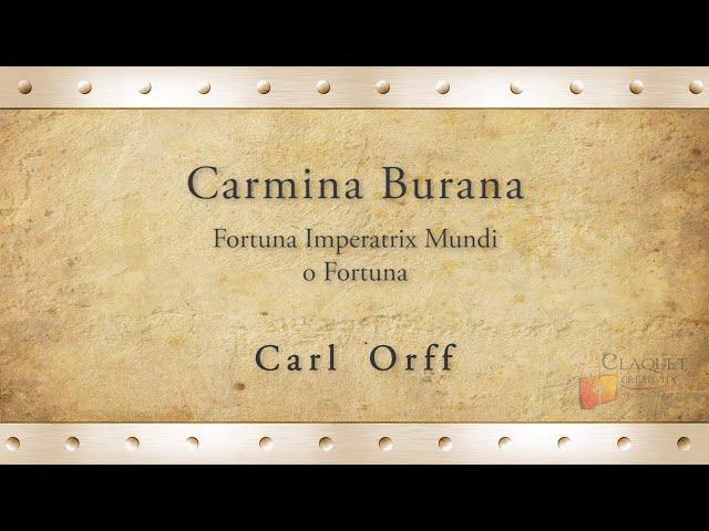 170J Carmina Burana, Fortuna   Carl Orff