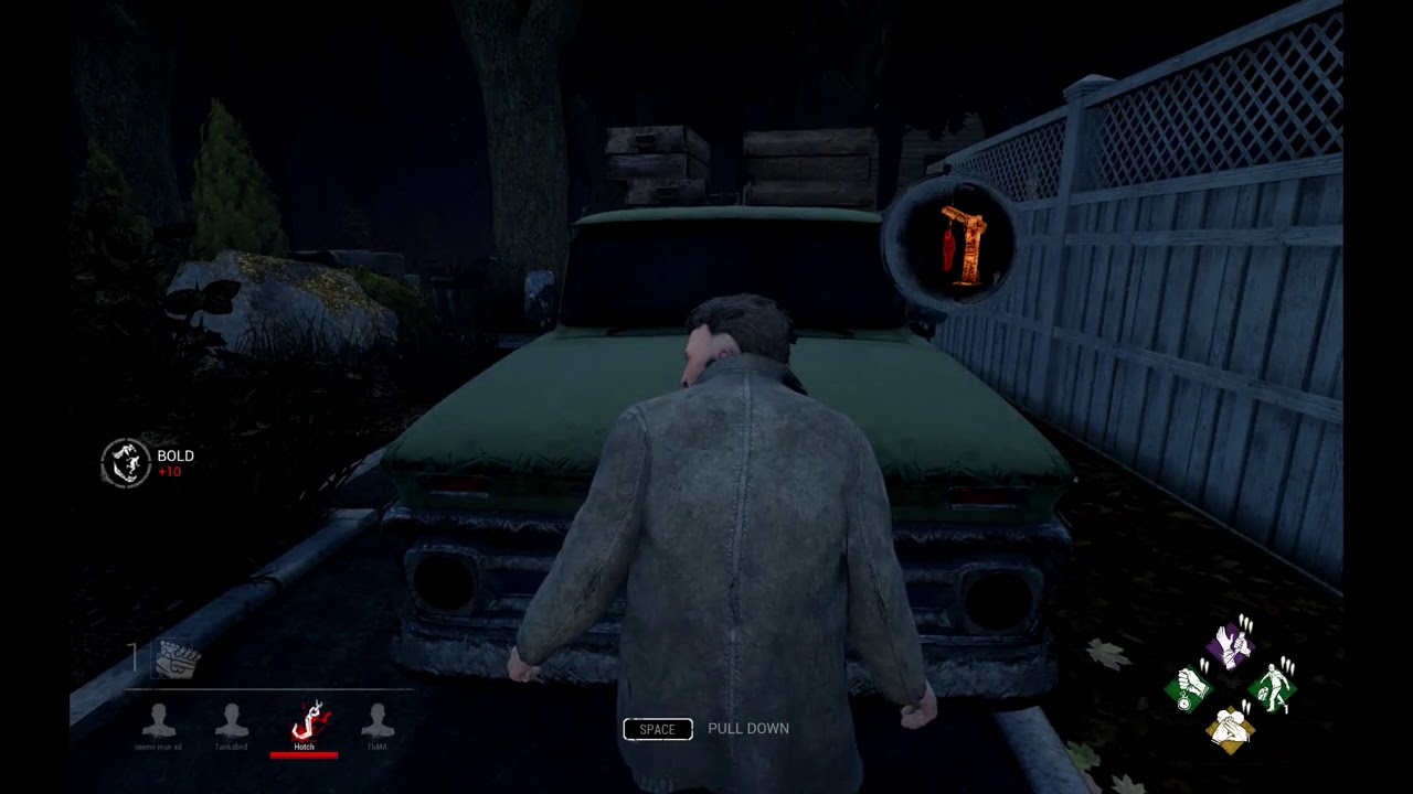 DbD - Escaping through the Hatch at Haddonfield