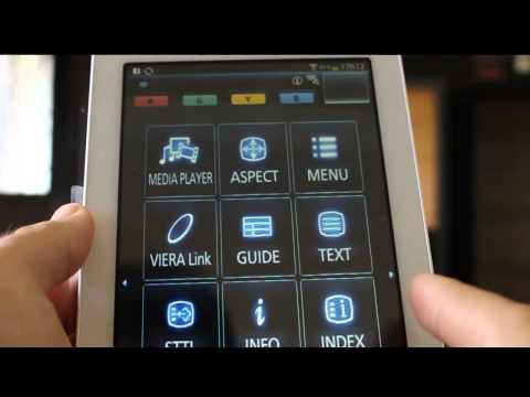 Panasonic Viera APP Android para utilizar como controle remoto
