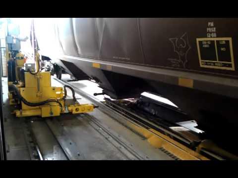 Calbrandt Automatic Railcar Opener Youtube