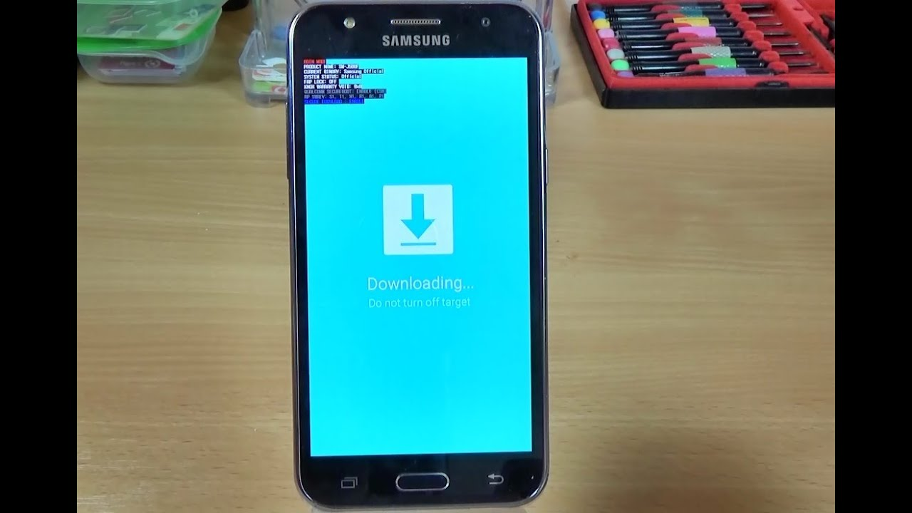 Samsung Galaxy J5 (2016), (2017) - How to enter in DOWNLOAD MODE