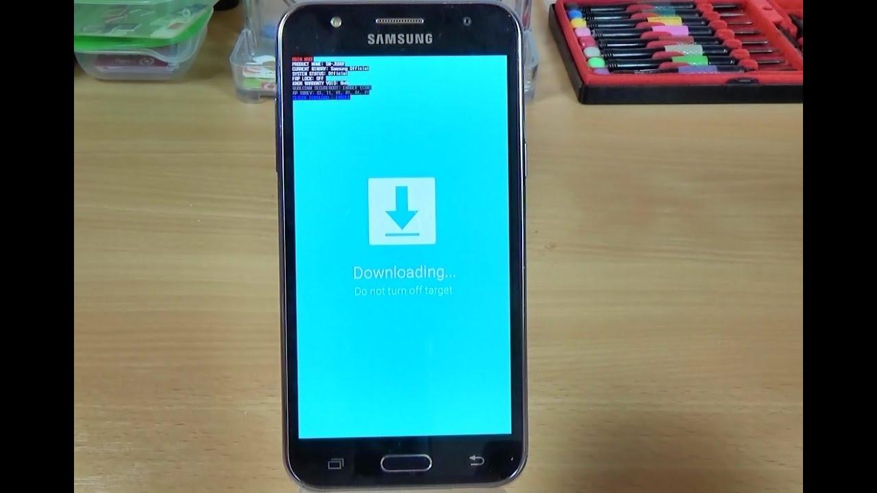 Download Mode SAMSUNG G570F Galaxy J5 Prime - HardReset info