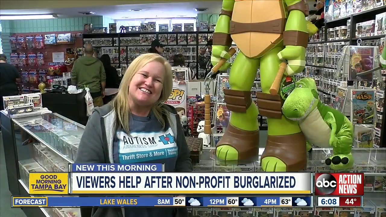 ABC Action News viewers help after non-profit burglarized