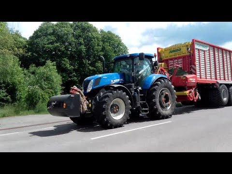 ☆New Holland T7 270 + Pöttinger Jumbo 10010 Combiline | Zbió