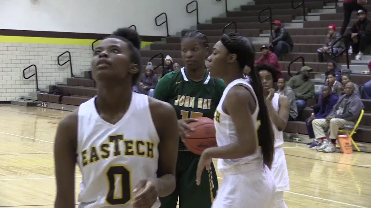 Cleveland high school girls basketball cleveland john hay girls basketball cruises by east tech 60 44 miami signee jamir fandeluxe Image collections