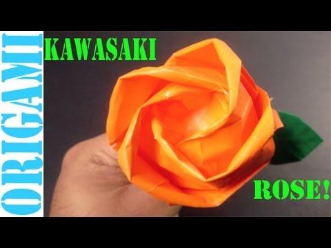Beautiful Kawasaki Rose (Valentine's Day): SunderOrigami!