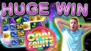HUGE WIN on Opal Fruits Slot - £5 Bet