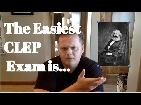 What's The Easiest CLEP Exam?!?!
