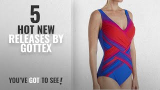 Hot New Gottex Women Clothing [2018]: Gottex Women's Radiance Surplice One Piece, Sunset, 48