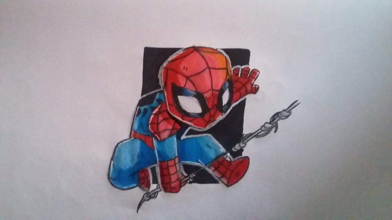 Dessin Spiderman Homecoming Youtube
