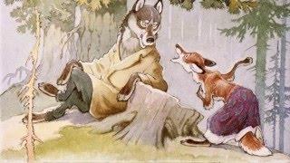 """Диафильм """"Про лису Ларису и зайца Коську"""". Диафильм сказка со звуком."""