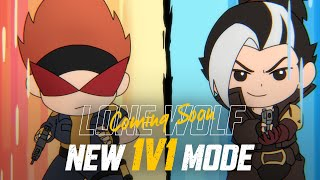 New Mode 1v1 Lone Wolf Coming Soon | Garena Free Fire