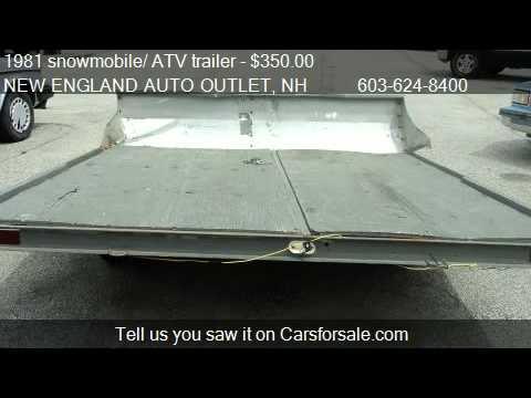 1981 snowmobile/ ATV trailer  - for sale in HOOKSETT, NH 031