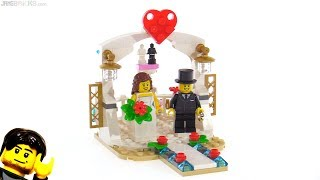 LEGO Wedding Favor Set 2018 review! 40197