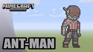 Minecraft: Pixel Art Tutorial and Showcase: Ant-Man