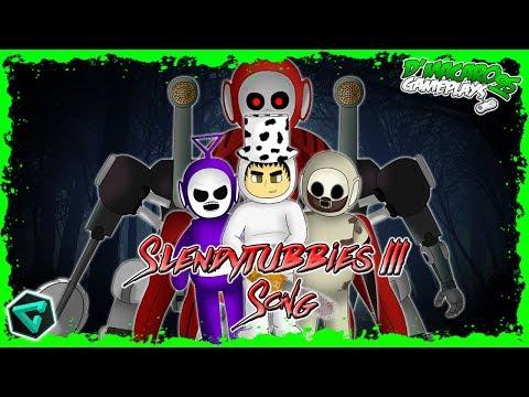 SLENDYTUBBIES 3 SONG!!!   LA CANCIÓN DE SLENDYTUBBIES 3!!!   D´MACARO 95