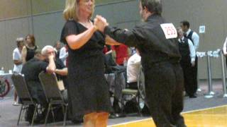 Carl Nuffer at Special Olympics ballroom dance competition