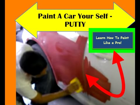 re how to paint a car your self putty learn how to