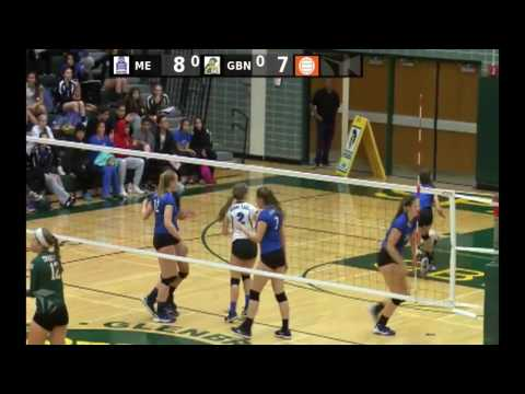 Glenbrook North High School vs. Maine East High School Girls Varsity Volleyball