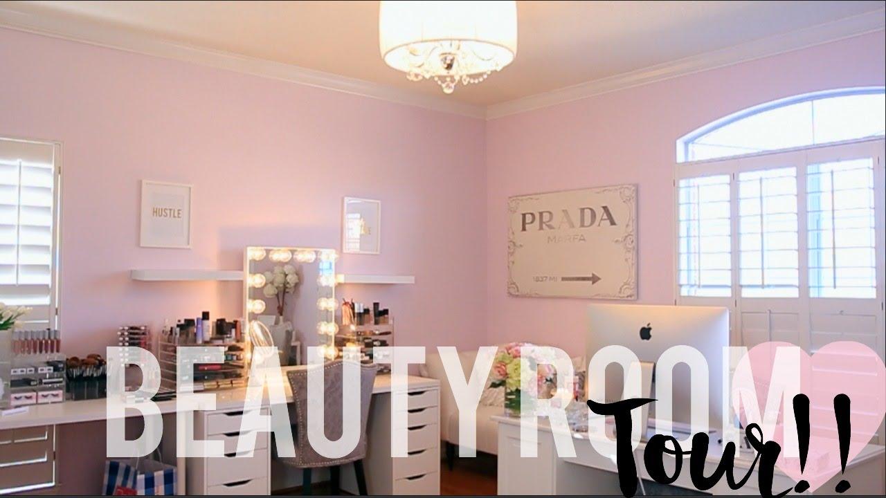 Beauty Room Tour Housetohome Youtube