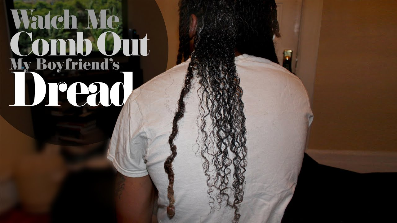 Combing Out Dreads Without Cutting PART 12