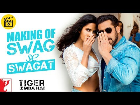 Making of Swag Se Swagat Song | Tiger...